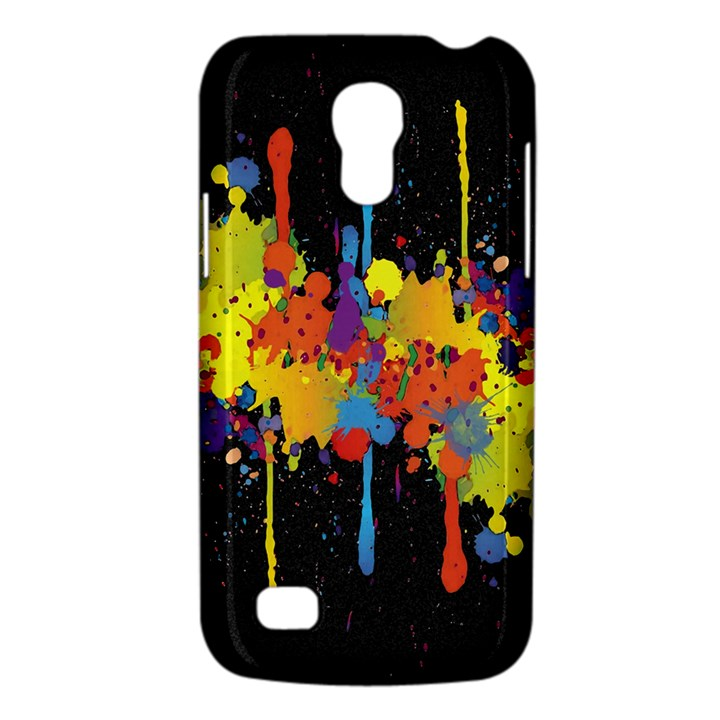 Crazy Multicolored Double Running Splashes Horizon Galaxy S4 Mini