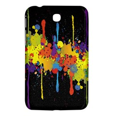 Crazy Multicolored Double Running Splashes Horizon Samsung Galaxy Tab 3 (7 ) P3200 Hardshell Case