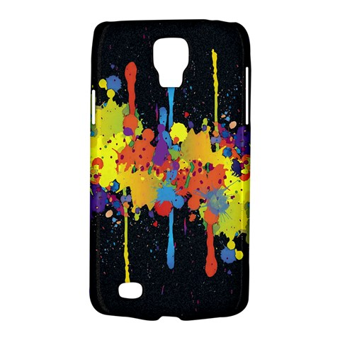 Crazy Multicolored Double Running Splashes Horizon Galaxy S4 Active