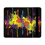 Crazy Multicolored Double Running Splashes Horizon Samsung Galaxy Tab Pro 8.4  Flip Case Front