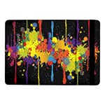 Crazy Multicolored Double Running Splashes Horizon Samsung Galaxy Tab Pro 10.1  Flip Case Front