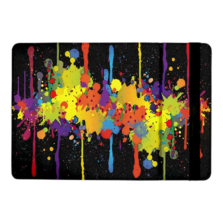 Crazy Multicolored Double Running Splashes Horizon Samsung Galaxy Tab Pro 10.1  Flip Case
