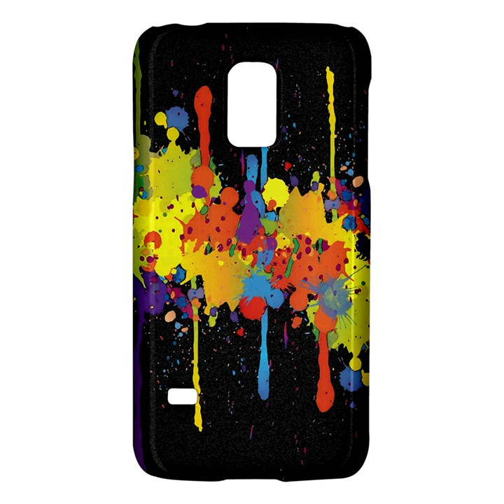 Crazy Multicolored Double Running Splashes Horizon Galaxy S5 Mini