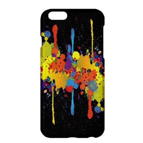 Crazy Multicolored Double Running Splashes Horizon Apple iPhone 6 Plus/6S Plus Hardshell Case