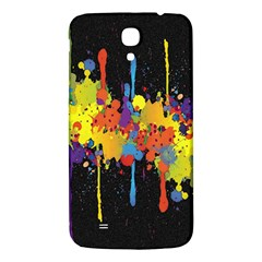 Crazy Multicolored Double Running Splashes Horizon Samsung Galaxy Mega I9200 Hardshell Back Case