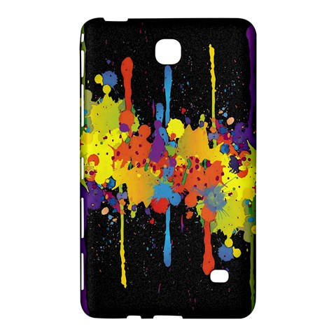 Crazy Multicolored Double Running Splashes Horizon Samsung Galaxy Tab 4 (7 ) Hardshell Case
