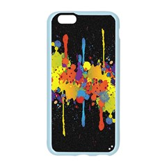 Crazy Multicolored Double Running Splashes Horizon Apple Seamless iPhone 6/6S Case (Color)