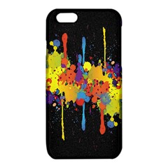 Crazy Multicolored Double Running Splashes Horizon iPhone 6/6S TPU Case