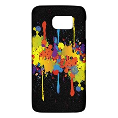 Crazy Multicolored Double Running Splashes Horizon Galaxy S6