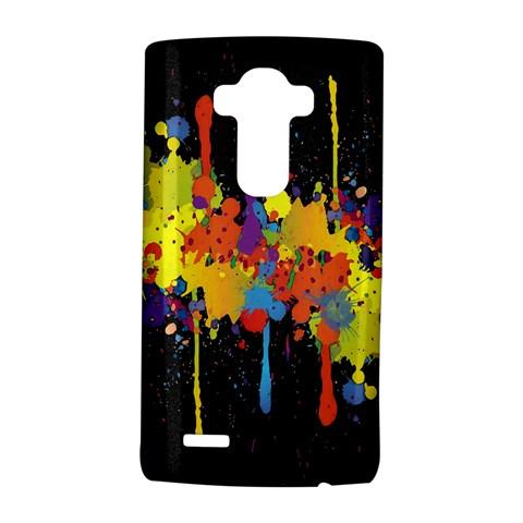 Crazy Multicolored Double Running Splashes Horizon LG G4 Hardshell Case