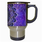 Flower Of Life Indian Ornaments Mandala Universe Travel Mugs (White) Right