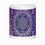 Flower Of Life Indian Ornaments Mandala Universe Morph Mugs Center