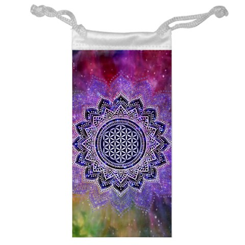Flower Of Life Indian Ornaments Mandala Universe Jewelry Bags