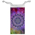 Flower Of Life Indian Ornaments Mandala Universe Jewelry Bags Back