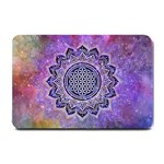 Flower Of Life Indian Ornaments Mandala Universe Small Doormat  24 x16 Door Mat - 1