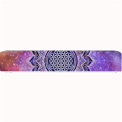 Flower Of Life Indian Ornaments Mandala Universe Small Bar Mats