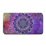 Flower Of Life Indian Ornaments Mandala Universe Medium Bar Mats 16 x8.5 Bar Mat - 1
