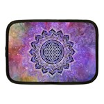 Flower Of Life Indian Ornaments Mandala Universe Netbook Case (Medium)  Front