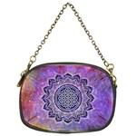 Flower Of Life Indian Ornaments Mandala Universe Chain Purses (One Side)  Front