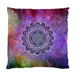 Flower Of Life Indian Ornaments Mandala Universe Standard Cushion Case (One Side) Front