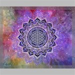 Flower Of Life Indian Ornaments Mandala Universe Canvas 20  x 16  20  x 16  x 0.875  Stretched Canvas