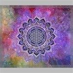 Flower Of Life Indian Ornaments Mandala Universe Canvas 24  x 20  24  x 20  x 0.875  Stretched Canvas
