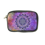 Flower Of Life Indian Ornaments Mandala Universe Coin Purse Front