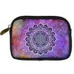Flower Of Life Indian Ornaments Mandala Universe Digital Camera Cases Front
