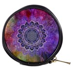 Flower Of Life Indian Ornaments Mandala Universe Mini Makeup Bags Front