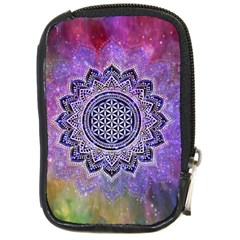 Flower Of Life Indian Ornaments Mandala Universe Compact Camera Cases