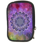 Flower Of Life Indian Ornaments Mandala Universe Compact Camera Cases Front
