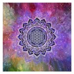 Flower Of Life Indian Ornaments Mandala Universe Small Memo Pads 3.75 x3.75  Memopad