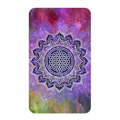 Flower Of Life Indian Ornaments Mandala Universe Memory Card Reader