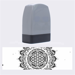 Flower Of Life Indian Ornaments Mandala Universe Name Stamps