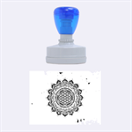 Flower Of Life Indian Ornaments Mandala Universe Rubber Oval Stamps 1.88 x1.37  Stamp