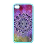 Flower Of Life Indian Ornaments Mandala Universe Apple iPhone 4 Case (Color) Front