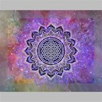 Flower Of Life Indian Ornaments Mandala Universe Deluxe Canvas 16  x 12   16  x 12  x 1.5  Stretched Canvas