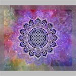 Flower Of Life Indian Ornaments Mandala Universe Deluxe Canvas 24  x 20   24  x 20  x 1.5  Stretched Canvas