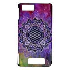 Flower Of Life Indian Ornaments Mandala Universe Motorola DROID X2