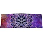 Flower Of Life Indian Ornaments Mandala Universe Body Pillow Case Dakimakura (Two Sides) Back
