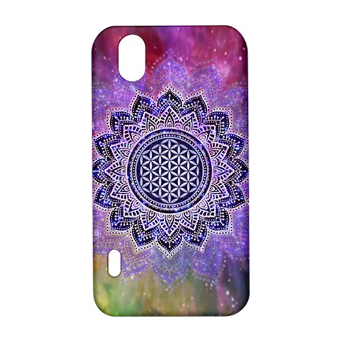 Flower Of Life Indian Ornaments Mandala Universe LG Optimus P970