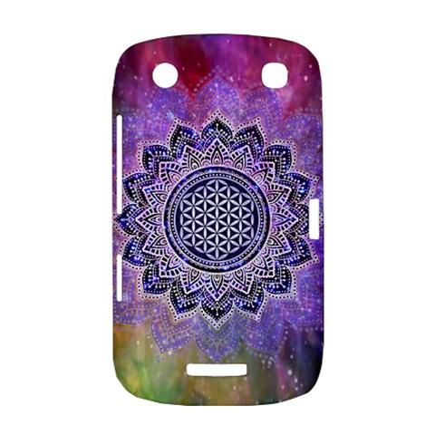Flower Of Life Indian Ornaments Mandala Universe BlackBerry Curve 9380
