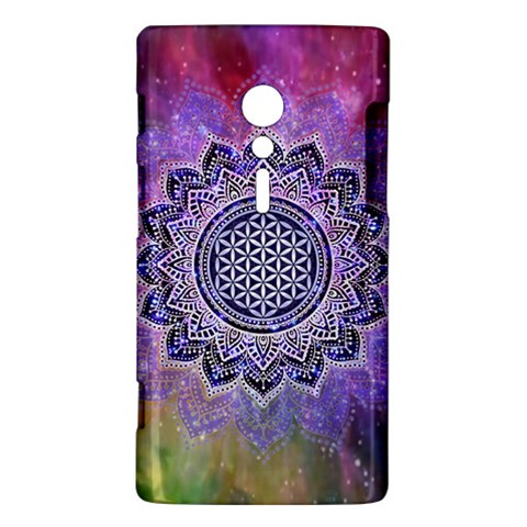 Flower Of Life Indian Ornaments Mandala Universe Sony Xperia ion