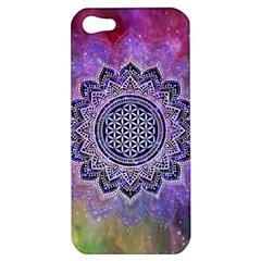 Flower Of Life Indian Ornaments Mandala Universe Apple iPhone 5 Hardshell Case