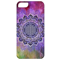 Flower Of Life Indian Ornaments Mandala Universe Apple iPhone 5 Classic Hardshell Case