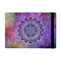 Flower Of Life Indian Ornaments Mandala Universe Apple iPad Mini Flip Case