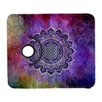 Flower Of Life Indian Ornaments Mandala Universe Samsung Galaxy S  III Flip 360 Case Front