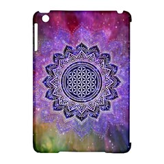 Flower Of Life Indian Ornaments Mandala Universe Apple iPad Mini Hardshell Case (Compatible with Smart Cover)