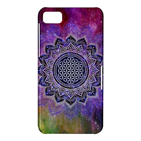 Flower Of Life Indian Ornaments Mandala Universe BlackBerry Z10