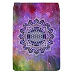 Flower Of Life Indian Ornaments Mandala Universe Flap Covers (L)  Front